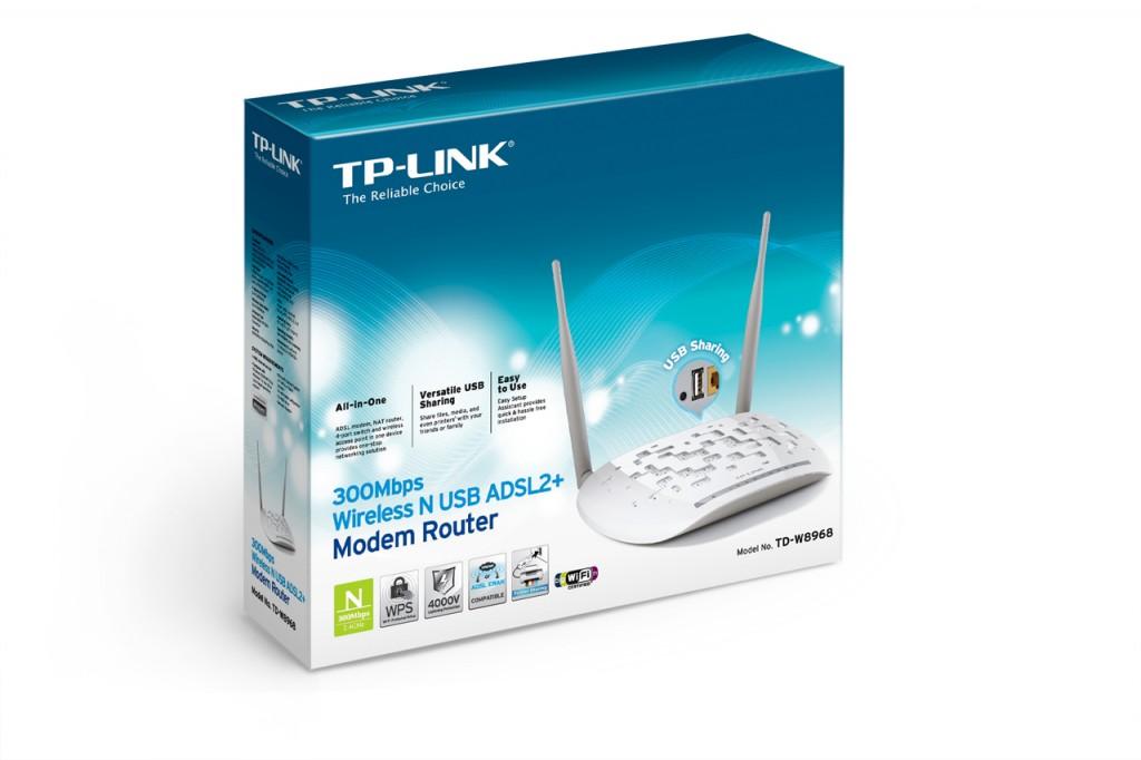 TP-LINK TD-W8968 ADSL