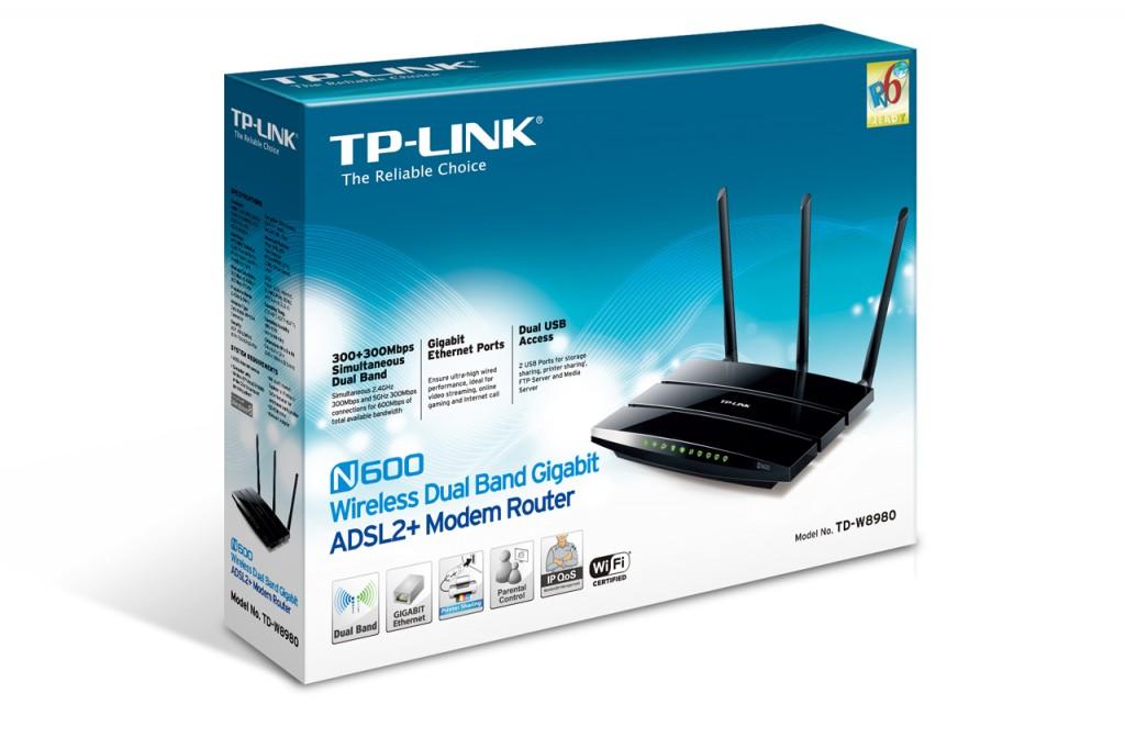 TP-LINK TD-W8980 ADSL2