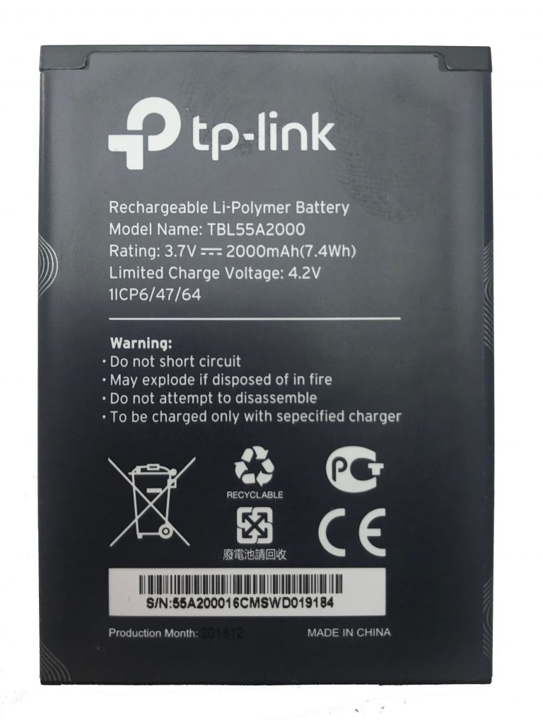 باتری مودم M7350  تی پی لینک