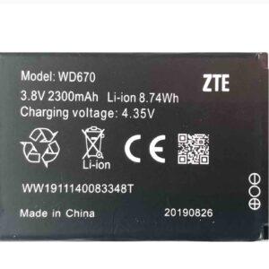 باطری مودم ZTE 4G WD670