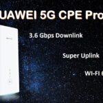 مودم رومیزی 5G مدلHUAWEI 5G H112 CPE Pro